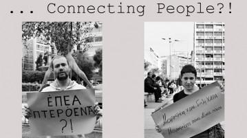 """Έκθεση """"... Connecting people?!"""""""