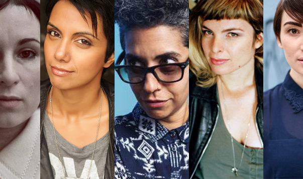 Empowering Women In The Film Industry, Outview 2018, Susanne Sachße, Fawzia Mirza, Émilie Jouvet, Limor Shmila, Andria Wilson , Empowering Women In The Film Industry, outview 2018